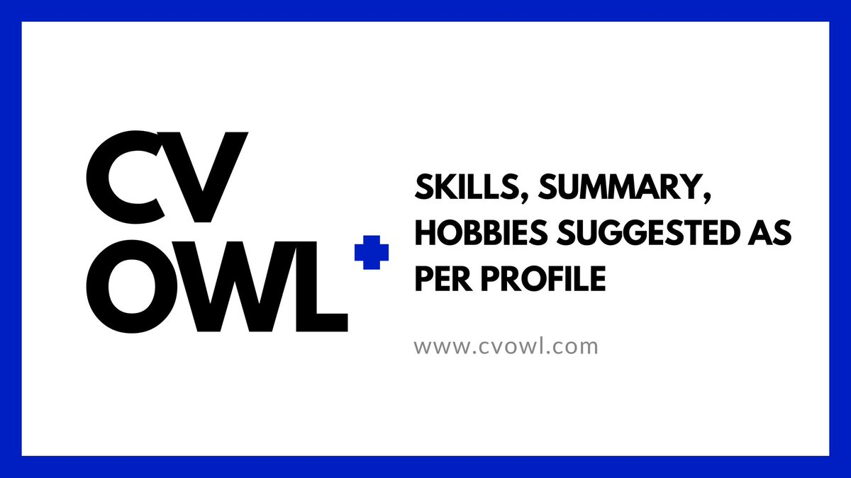 Resume Blog Resume Writing Blog Resume Builder Blog Cv Owl